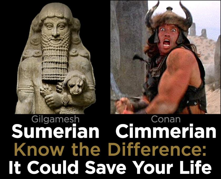 Sumerian-Cimmerian