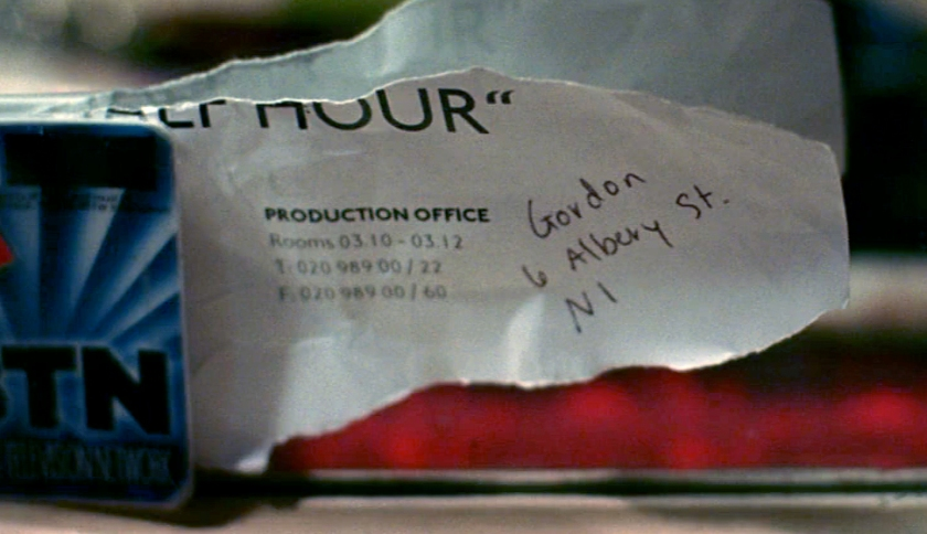 Gordon's Address